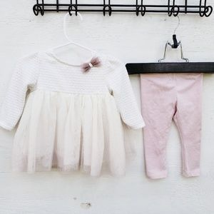 Catherine  Malandrino Size 3-6m Dress/Leggings